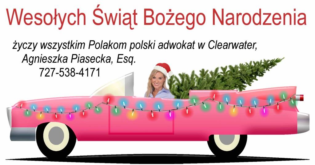 "Agnieszka ""Aga"" Piasecka Xmas 2018"
